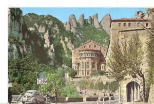Postal 030654 : Montserrat. Abside de la Basilica