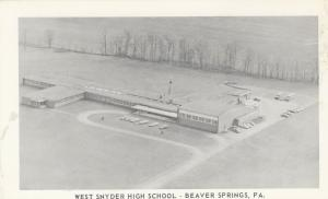 BEAVER SPRINGS, Pennsylvania, 1930-50s; West Snyder High School