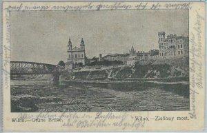 79871  -  LITHUANIA  -  VINTAGE   POSTCARD  -  WILNO Vilna  1915