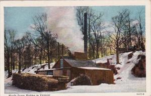 Maple Sugar Making In Vermont Montpelier Vermont