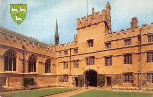 Oxford, Jesus College, Emblem, Coat of Arms 1970