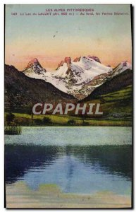 Old Postcard Lake Lauzet Basically small Séolanes