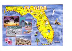 State Map with Photographs, Florida,