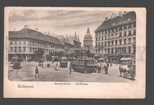 093162 HUNGARY Budapest Karoly-Kort Karlspring Vintage PC