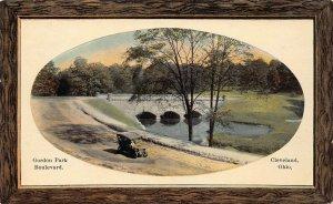 LPS06 CLEVELAND Ohio Gordon Park Boulevard Postcard