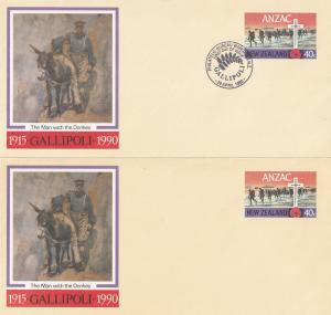1915 Gallipoli New Zealand ANZAC Wanganui First Day Cover s