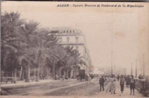 Algeria Alger Square Bresson et Boulevard de la Republique
