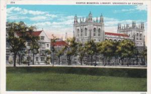 Illinois Chicago Harper Memorial Library University Of Chicago Curteich