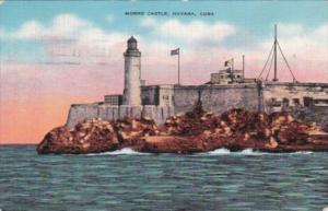 Cuba Havana Morro Castle 1940