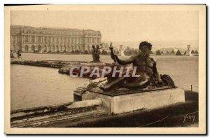 Old Postcard Splendors and Charmes Of Versailles Parterre d & # 39eau The Rhone