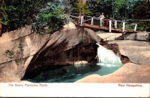 New Hampshire White Mountains Franconia Notch The Basin 1910