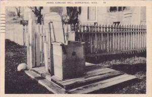 Agnes Surriage Well Marblehead Massachusetts