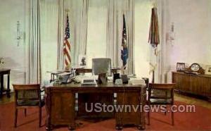 Presidents Office, White House Washington DC DC Unused