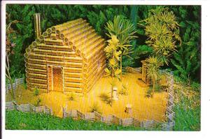 Lincoln's lLog Cabin, Scale Model, Ripley's Believe It or Not Museum, Gatlinb...