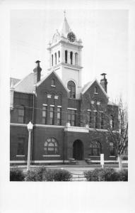 Ellaville Georgia Schley Court House Real Photo Antique Postcard K71973