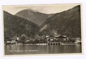 RP  Dorf Walchensee mit Heimgarten, Germany 20-40s