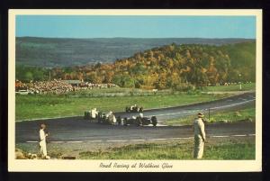 Watkins Glen,New York/NY Postcard, Road Racing, Indy Type Cars