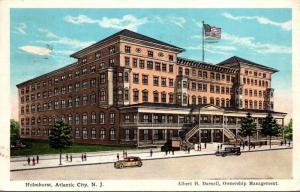 New Jersey Atlantic City Holmhurst Hotel 1931