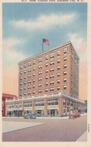 North Carolina Elizabeth City Hotel Virginia dare Curteich