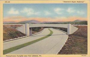 Pennsylvania Fort Littleton Pennsylvania Turnpike