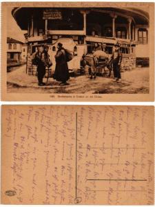 CPA 1196 Strassenecke in SVISTOV and der DONAU. BULGARIA (407396)