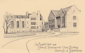 SASKATOON , Sask. , Canada , 1930-50s ; Qu'Appelle Hall