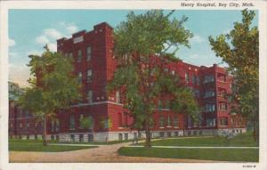 Michigan Bay City Mercy Hospital 1949 Curteich