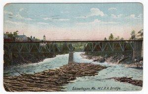 Skowhegan, Me, M. C. R. R. Bridge