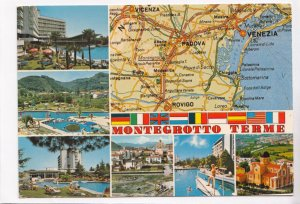 MONTEGROTTO TERME, Italy, 1983 used Postcard