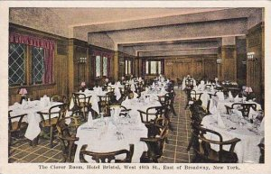 New York City The Clover Room Hotel Bristol West 48th East Of Broadway