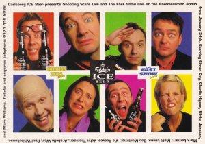 Shooting Stars Live Comedy On Ice Fast Show Ulrika Johnson Advertising Postcard