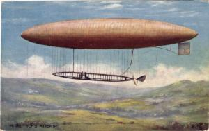 Early Air Ship - Largest air ship ever built at that time - Wanna Take a Ride?