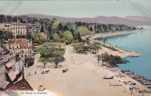 Le Quai A Ouchy, Lausanne, Switzerland, 1900-1910s