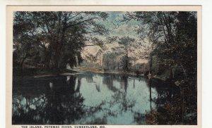 P1800 old unused the island potomac river cumberland maryland