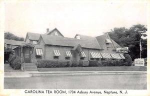 Neptune New Jersey Carolina Tea Room Street View Vintage Postcard K28178