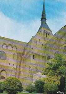 France Le Mont Saint Michel L'Abbatiale