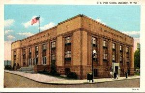 West Virginia Beckley Post Office 1959 Curteich