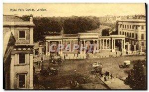 Postcard Old Hyde Park Corner London