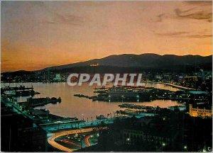 Modern Postcard Palma de mallorca the Bahis noche