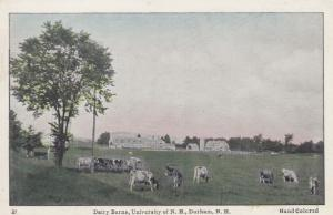 DURHAM, New Hampshire, 1910-30s; Dairy Barns, University of New Hampshire