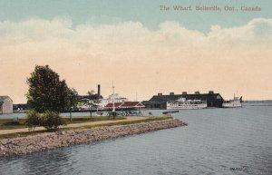 BELLEVILLE, Ontario, Canada, 1900-1910s; The Wharf
