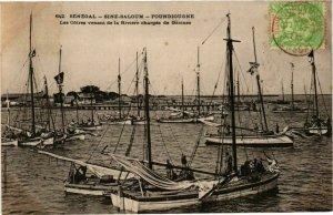CPA AK Senegal Fortier 642. Sénégal-Sine Saloum-Foundiougne (235186)