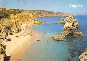 B108639 Portugal Algarve Playa Beach Panorama Plage real photo uk