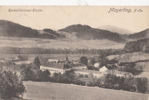B79717 mayerling N Oe karmeliterninne kloster austria  front/back image