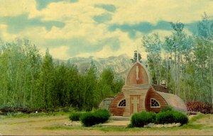 Canada - Yukon Territory. Haines Junction Northern Church
