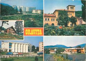 Romania Oravita Caras-Severin multi view postcard