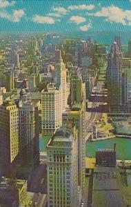 Illinois Chicago Michigan Avenue 1981