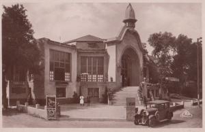 Saint Aubin Casino French Vintage Real Photo Postcard + Billboard Advertising