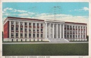 LINCOLN, Nebraska, PU-1932; Morrill Hall, University Of Nebraska