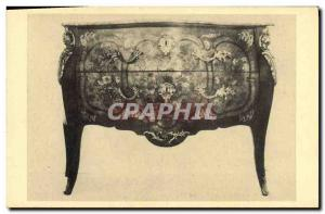 Postcard Old mahogany chest of French Art Brussels